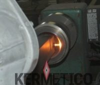 Internal diameter metal carbide spray id-gun wear protective coating