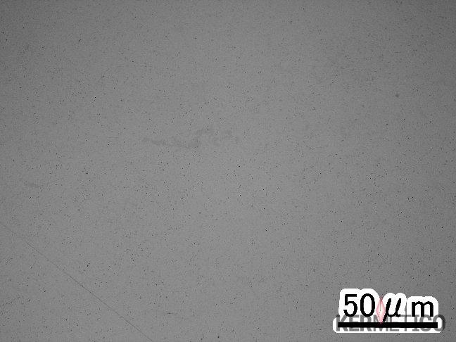 A Micrograph of a Kermetico HVAF Clad Aluminum Layer, x500