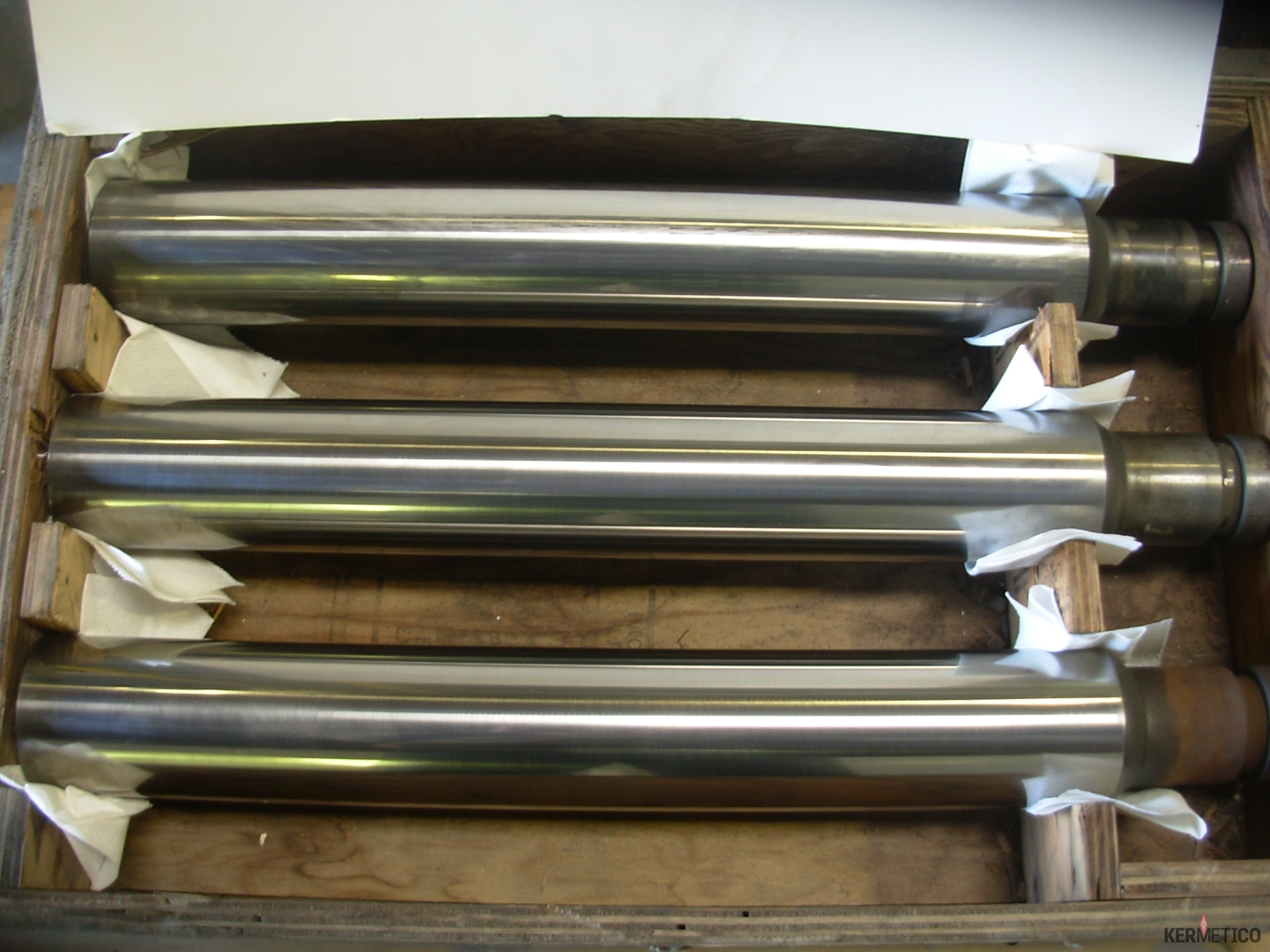 Polished Hard Pump Plungers Coatings