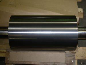HVAF Coated Steel Roll