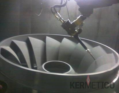 Hydro Power: Kermetico HVAF Cavitation Resistant Coating of a Francis Runner