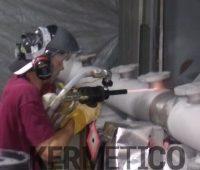 Kermetico AK-HH manual HVAF system