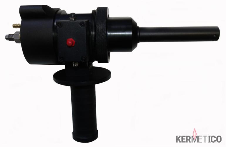 HVAF HVOF Portable Hand-held Spray Gun for On-Site Coating Metal Carbide