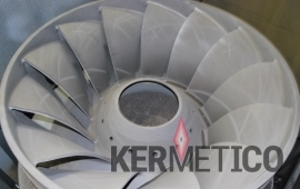 kermetico hvaf cavitation coating equipment to protect hydro turbines from cavitation and erosion