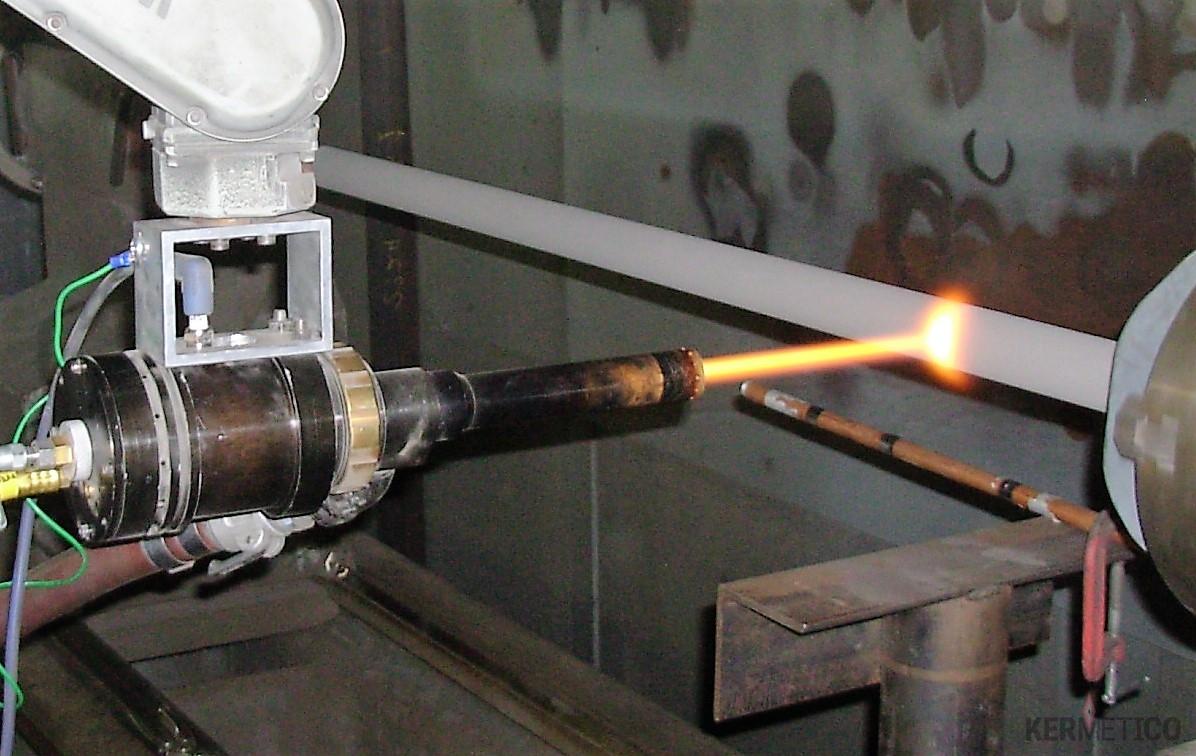 A Kermetico HVAF Hydraulic Rod Coating