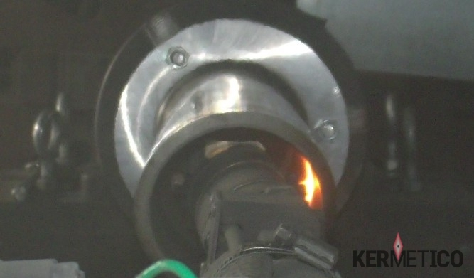 "The Kermetico HVAF AK-ID Gun Thermal Spraying onto an Internal Diameter of 89 mm (3.5"")"