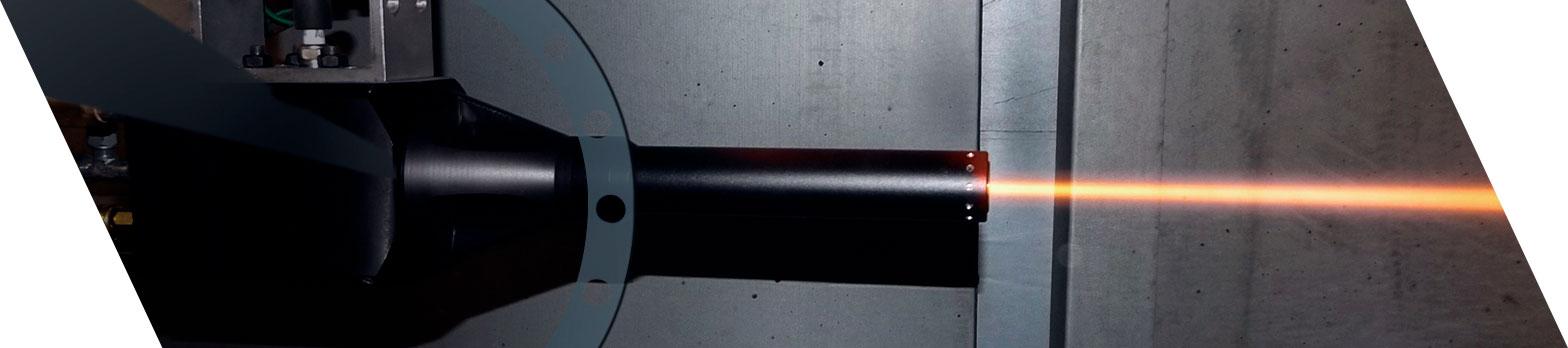 Kermetico HVOF equipment
