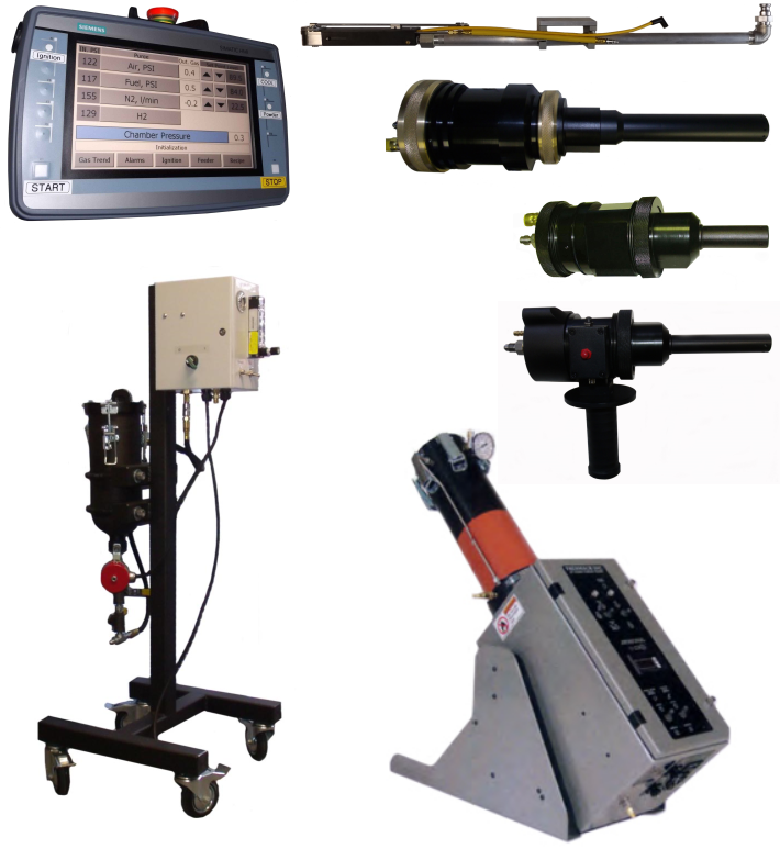 Kermetico HVAF Equipment, Thermal Spray Coating HVOF Systems