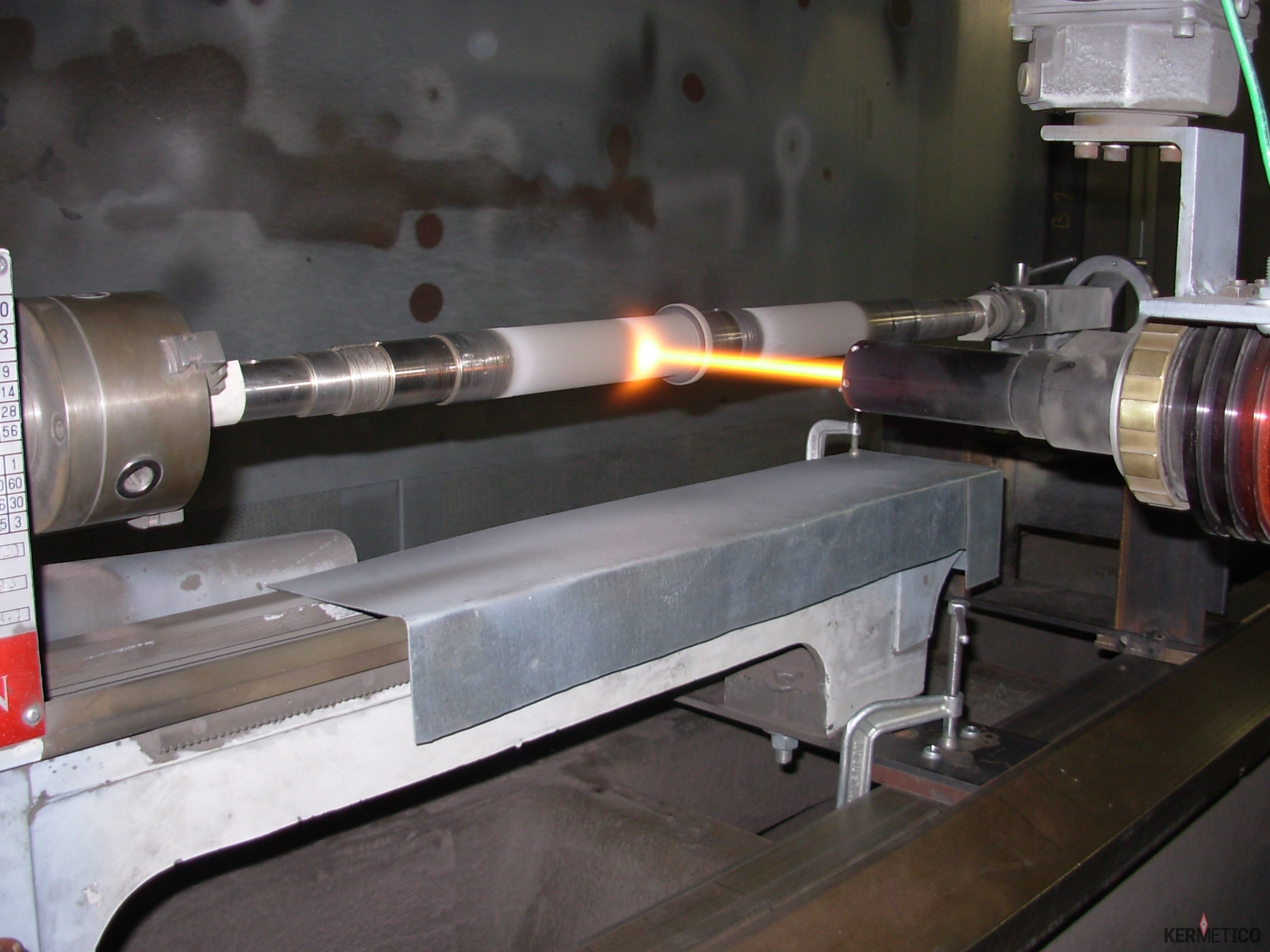 Shaft coating: equipment & services for wear resistant surface repair